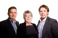 Senior Management Team (Mark Collins, Jane Quartermain, Nigel Collins)